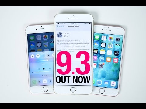 iOS 9.3 Released - Everything You Need To Know!