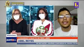 🔴 Punto Final | Ląs propuestas legislativas de virtuales congresistas Abel Reyes y Patricia Juárez