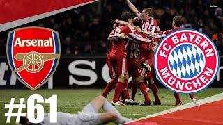 FIFA 17 | Arsenal-Bayern Munchen l Semifinále-Liga Mistrů UEFA | PART 61 | XBOX ONE | CZ