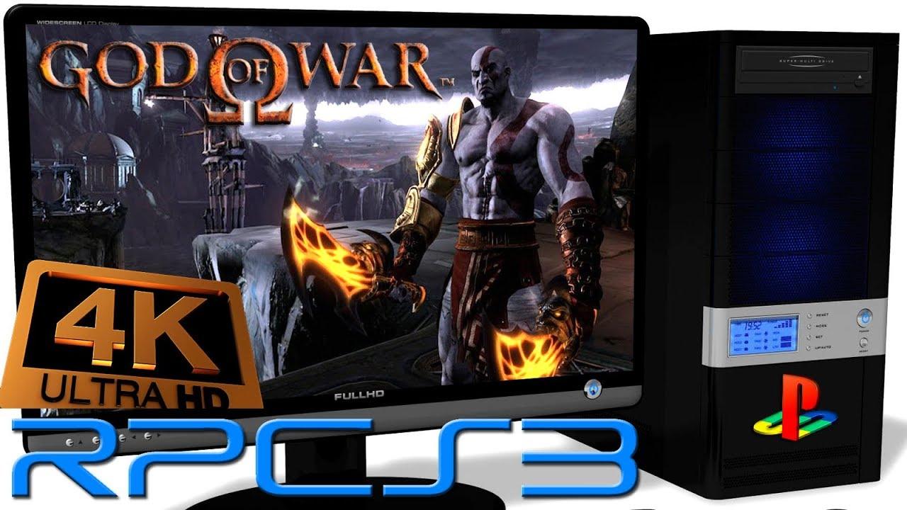 RPCS3 0 0 4 PS3 Emulator - God of War 1 HD Collection (4K UpScale) LLVM  Vulkan (Auto LLE) #10 by Emulators for PC