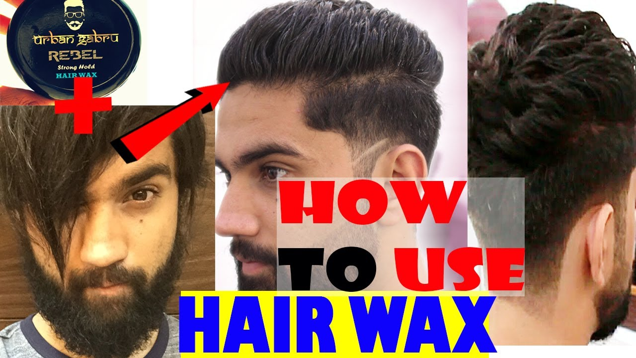 How To Use Hair Styling Wax | Mid Fade UnderCut With Beard | Best Hairstyle  2017
