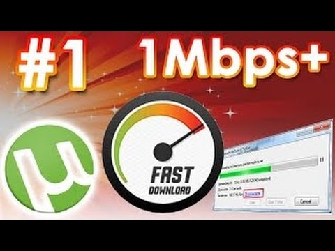 Utorrent speed Hack August 2017 [100%]