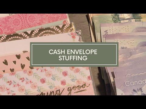 Cash Envelope And Sinking Fund Stuffing