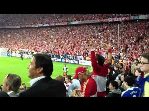 Bayern Ambiance after goal