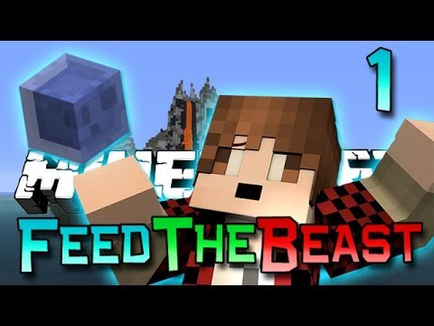Minecraft: Feed The Beast Ep. 1 - How To FTB! (Modded Survival Series)