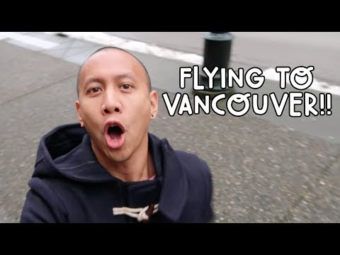 FLYING TO VANCOUVER, CANADA #CanadaTour | Vlog #73