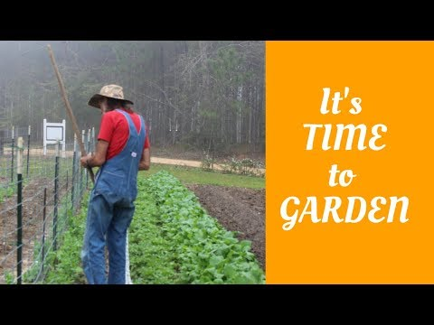 It's TIME to GARDEN