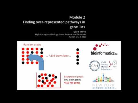 Finding Over-Represented Pathways in Gene Lists