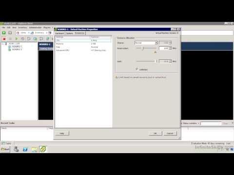 VMware ESXi & vSphere 5.1 Admininstration Training : Virtual Machine Settings For Performance