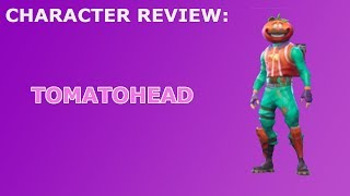 Tomatohead Outfit Review + Skin Showcase! (Default Style) ~ Fortnite Battle Royale