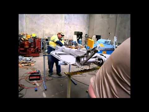 VW floor pan replacement Part 1