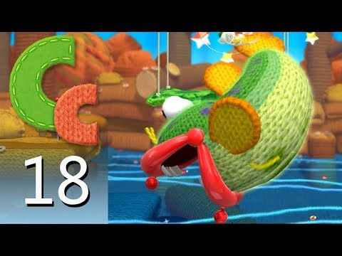 Yoshi's Woolly World – Episode 18: Rollin' Down the River