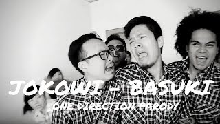 What Makes You Beautiful by One Direction - JOKOWI DAN BASUKI (MUSIC VIDEO PARODY)