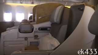 The Emirates Boeing 777-300ER | Business Class Product | 2013