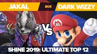 Jakal Vs Dark Wizzy - Losers' Round 1: Ultimate Singles Top 12 - Shine 2019