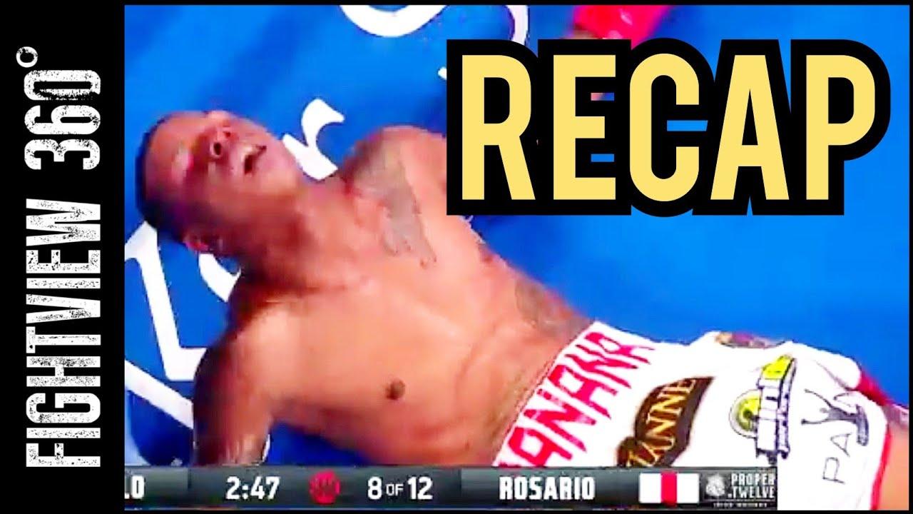 Jermell Charlo vs Rosario Post Fight RECAP: Stomach JAB KO - Charlo's Prove Their Worth? UNDISPUTED?