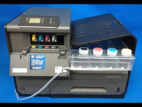 Bulk ink para HP Pro x 476 e Pro x 451