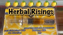 Herbal Risings CBD dispensary 1000mg Lemon ? Thai Kush dab concentrate