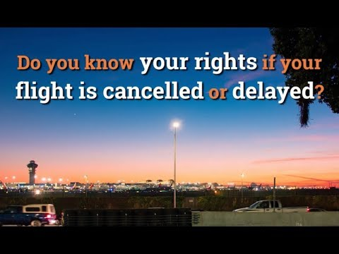 EU flight compensation: What are my rights if my flight is cancelled or delayed?