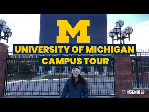 University of Michigan Campus Tour