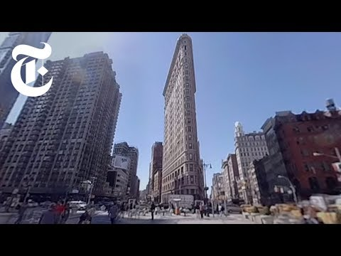 Walking New York | 360 VR Video | The New York Times