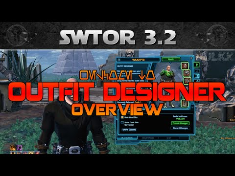 SWTOR Outfit Designer Guide (How to change your Outfit)