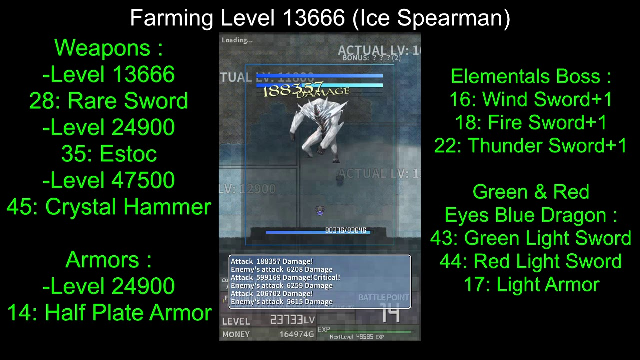 [Playthrough] Inflation RPG ► Items Farming #5 ♦ [Weapon N°44]
