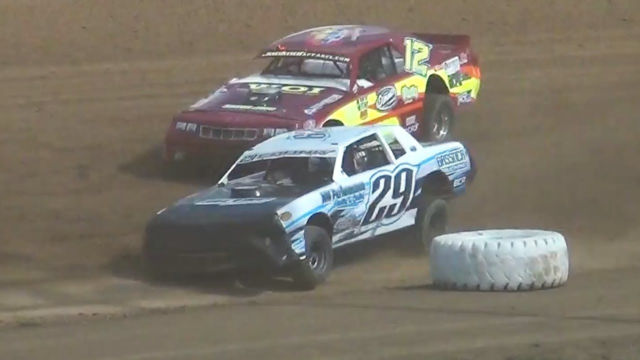 Street Stock-Heats Races@ Iron Giant-Grays Harbor Raceway 2019
