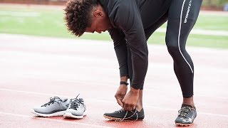 Asombro Bienes Parámetros  Manteo Mitchell Breaks Down The SpeedForm Sprint Pro - YouTube