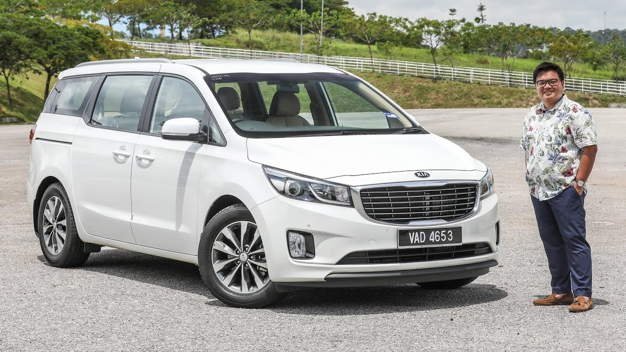 First Drive Kia Grand Carnival Malaysian Review Rm150k Rm180k