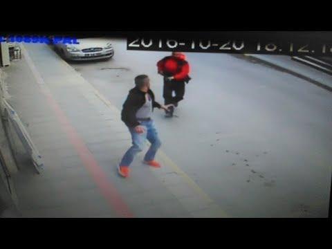 Bursa'daki Cinayet Anı Güvenlik Kamerasında!
