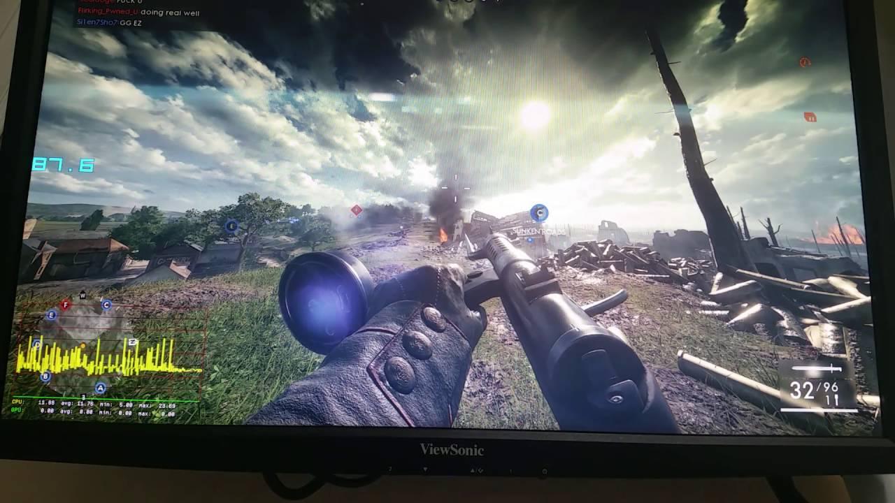 Battlefield 1 RX 480 DX12 Serious Microstuttering