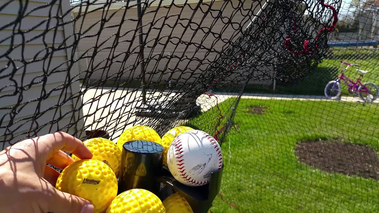 heater power alley pro batting cage youtube