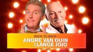 ANDRE VAN DUIN & LANGE JOJO - BACK TO BACK - 2CD - TV-Spot
