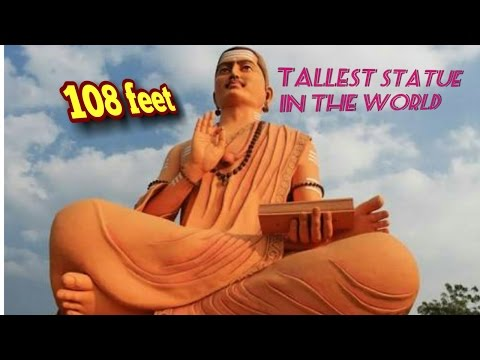 Best tourists place / The  world tallest statue of basavanna 108 feet at Basavkalyan