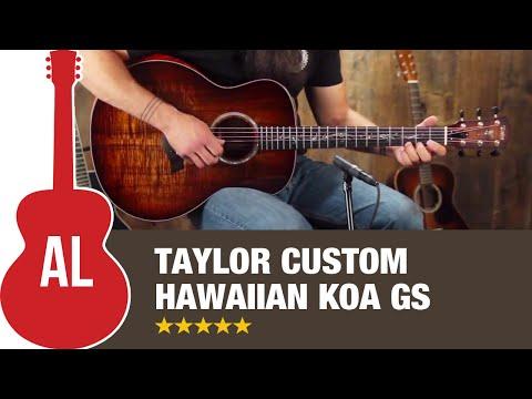 Taylor Custom Hawaiian Koa GS Guitar Review