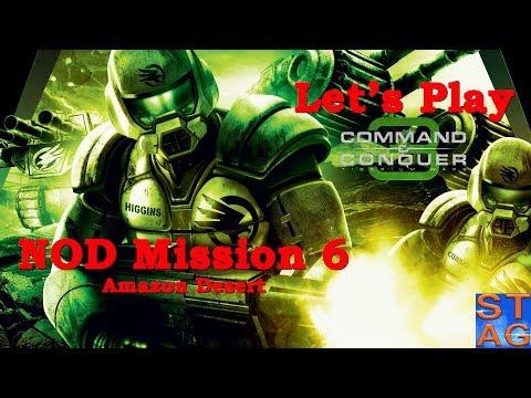Amazon Desert (NOD Mission 6) - Let's Play Command & Conquer 3: Tiberium Wars
