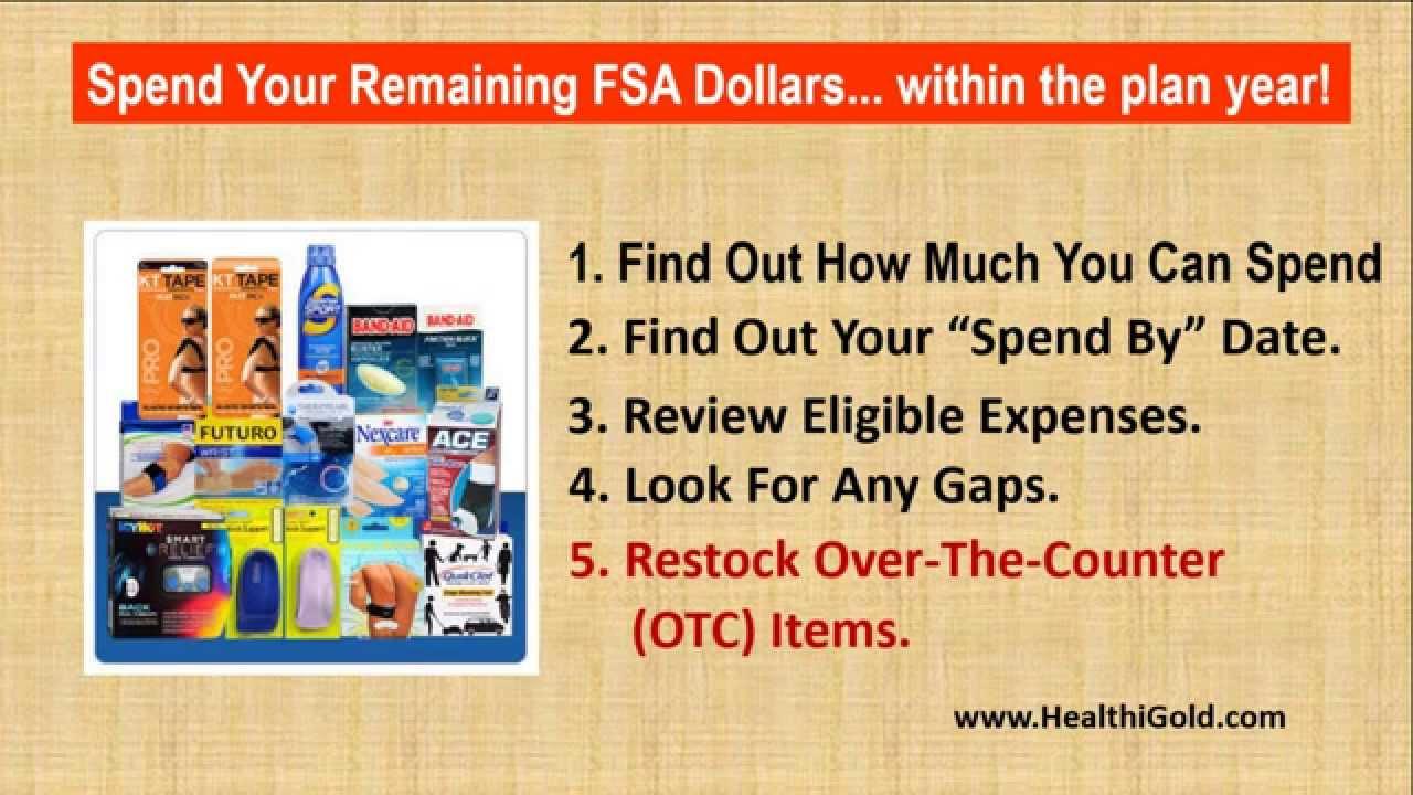 Plan Your FSA Eligible Expenses   Health Care FSA   FSA Eligible Items
