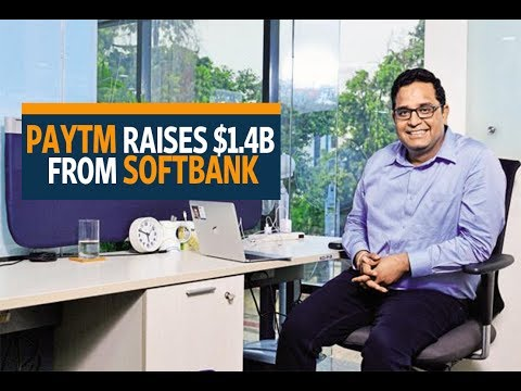 Paytm raises $1.4 billion from SoftBank, valuation soars to $7 billion