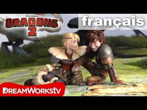 dragons 2 extrait astrid et harold officiel vf hd