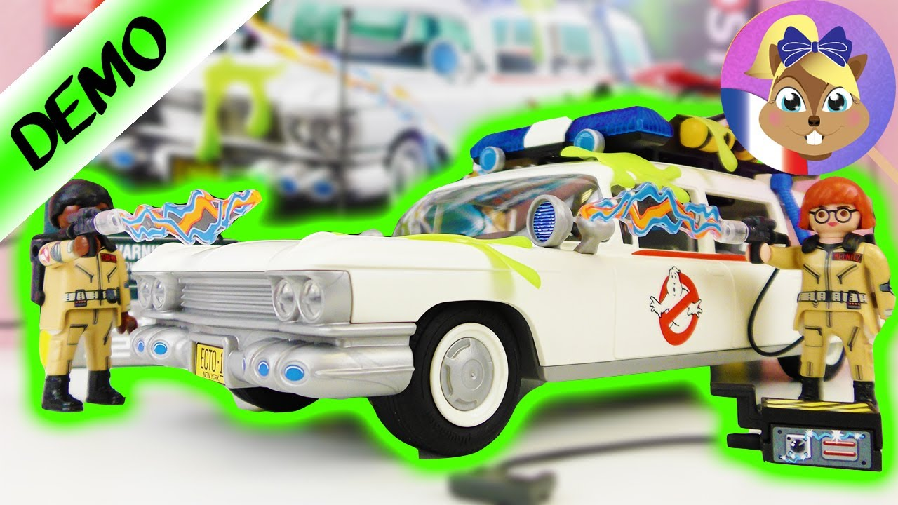 playmobil ghostbusters ecto 1 9220 voiture pour. Black Bedroom Furniture Sets. Home Design Ideas