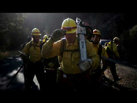 Oregon inmates fight wildfires