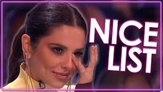 NICE LIST | Happiest Auditions On Got Talent, Idol And More! | Top Talent