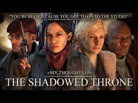 The Shadowed Throne - My Thoughts and Opinions