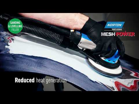 Norton MeshPower - Powerful Dust Extraction For Professional Car Paint Repair