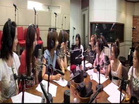 SNSD Genie YoonGun's Radio [full] Aug04.2009 GIRLS' GENERATION Live