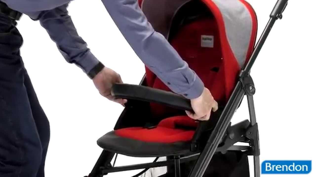 Детская коляска Peg Perego Si Completo - YouTube