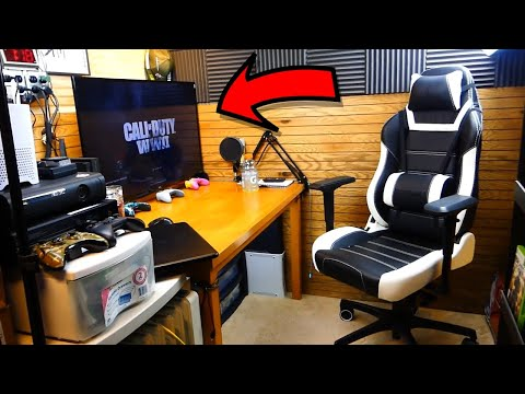 The ULTIMATE GAMING ROOM Setup!!!