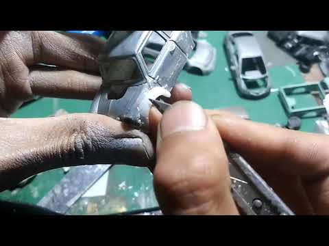How To Make Diecast Bodykit Using Resin & Cutter
