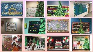Christmas day display board ideas || Christmas day display board ideas for school ||